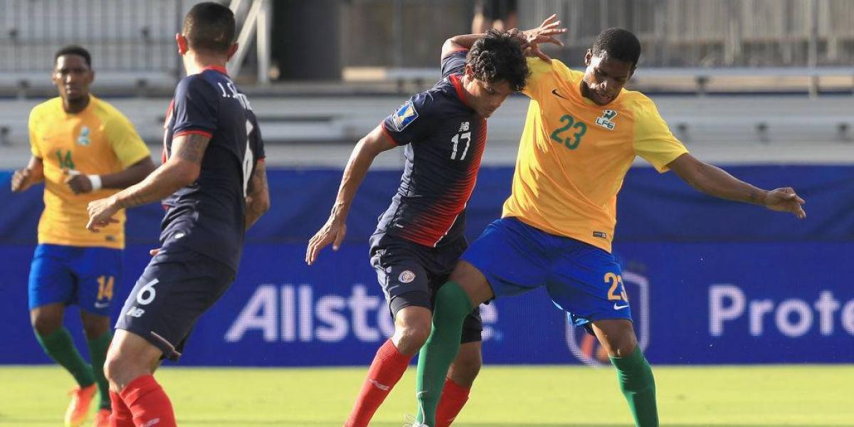 Costa Rica vence a Guyana Francesa y es el primer calificado a Cuartos