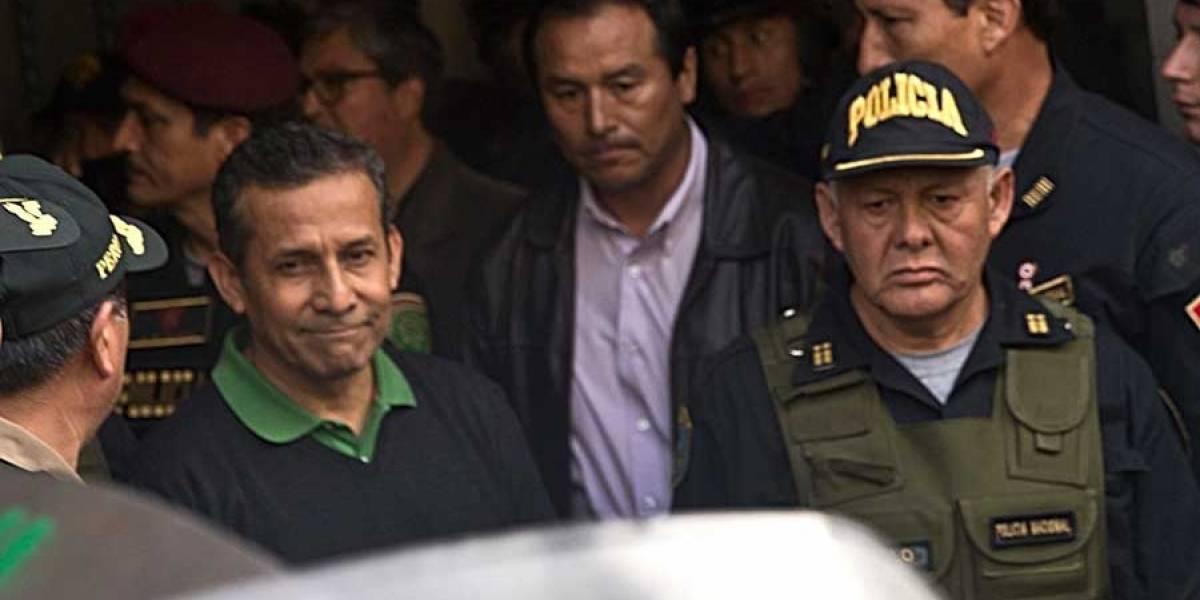 Humala, irónicamente, compartirá prisión con Alberto Fujimori