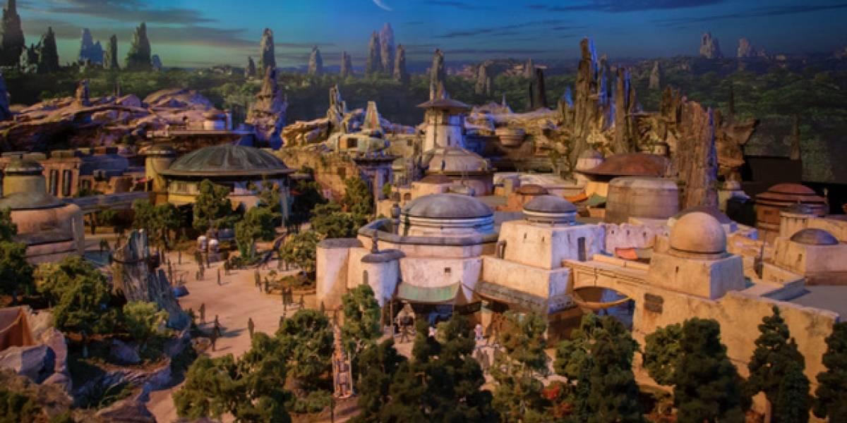Primer vistazo a las áreas con temática de Star Wars