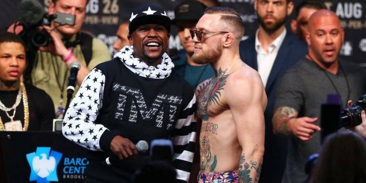 """Mayweather sobre pelea ante McGregor: """"Habrá sangre y knockout"""""""