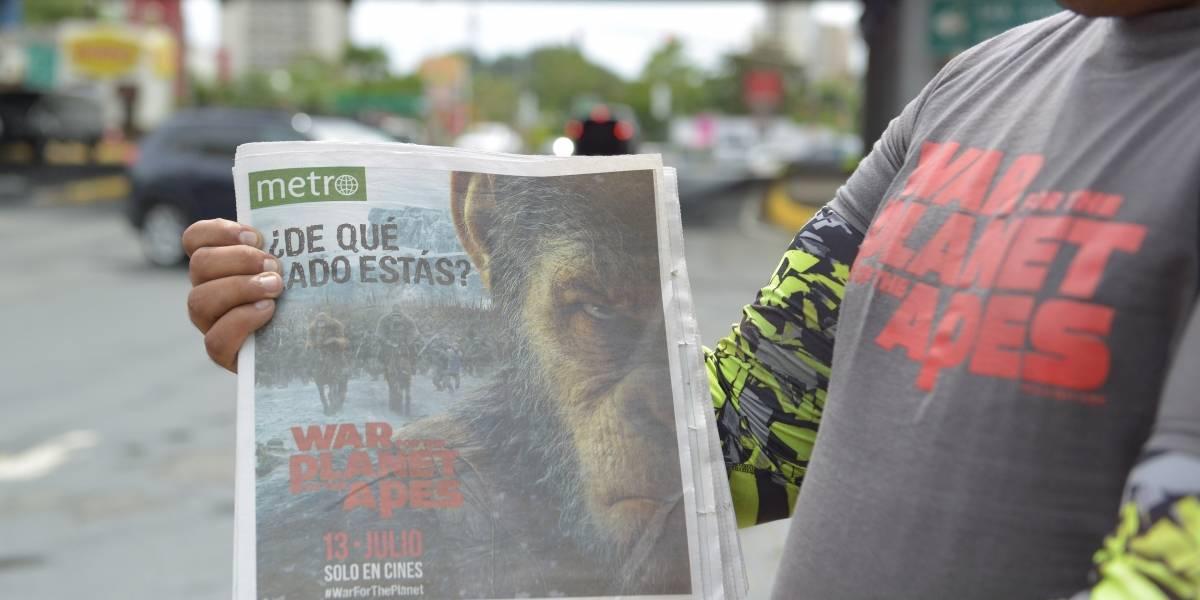 War For The Planet Of The Apes se apodera de Metro
