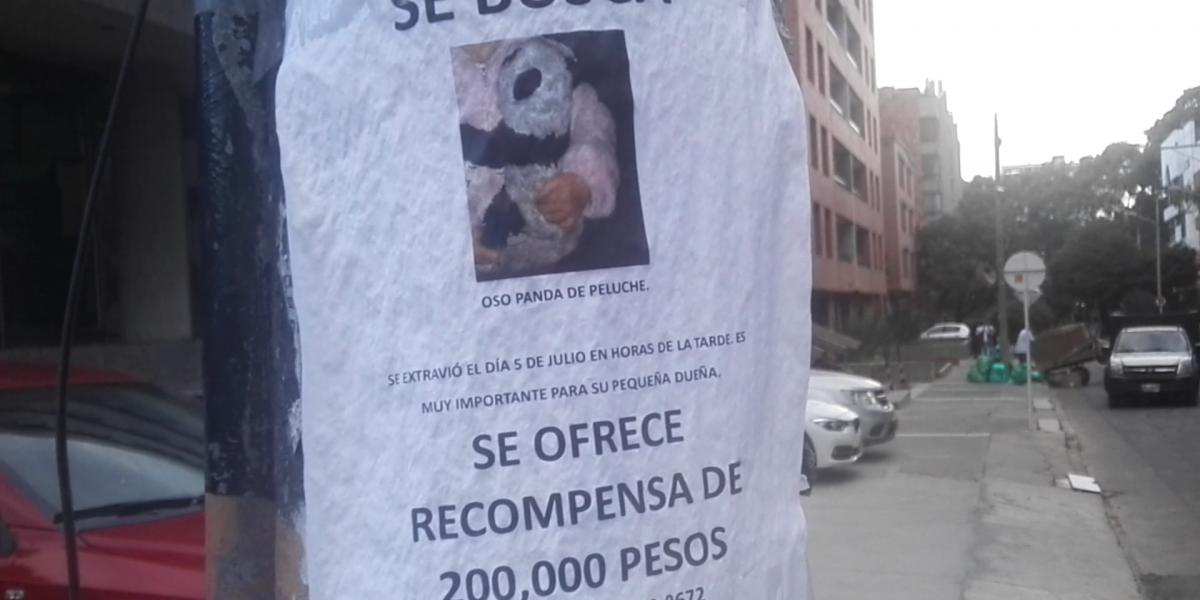 Si usted se encuentra un oso de peluche, podría ganar 200 mil pesos