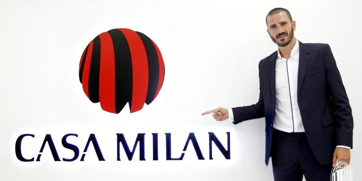 El Milan sigue sorprendiendo y anuncia su golpe más fuerte del mercado: Leonardo Bonucci