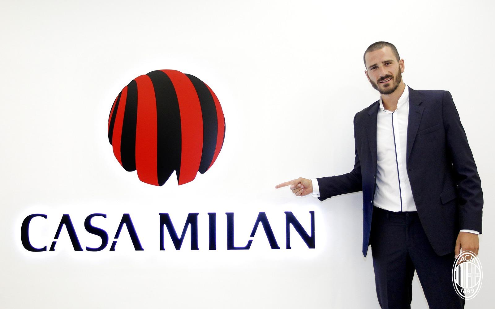 Leonardo Bonucci es considerado uno de los mejores centrales del mundo / AC Milan
