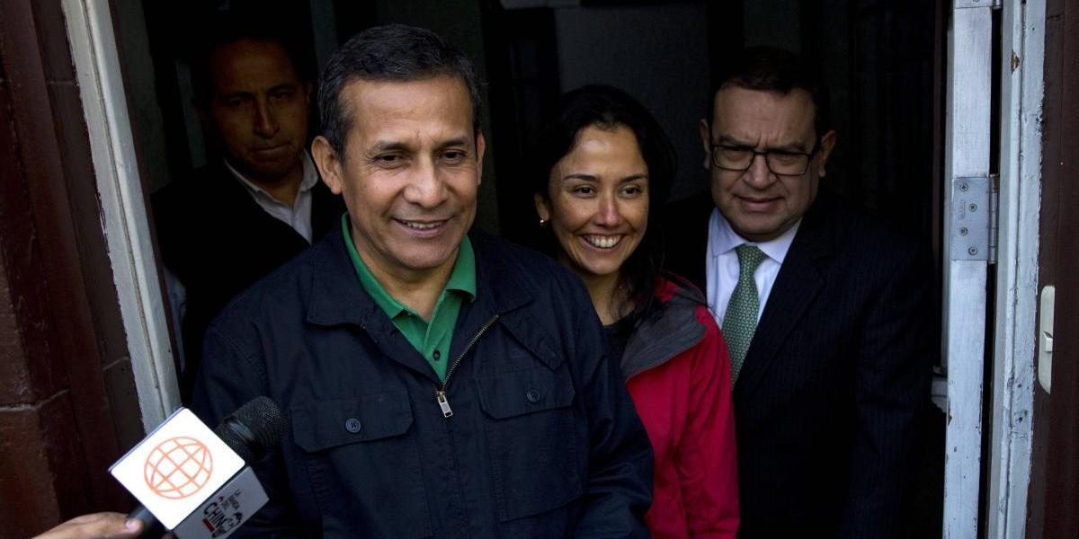 Ex presidente Humala será enviado al mismo penal donde está Fujimori