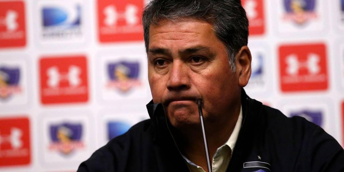 Óscar Meneses pierde credibilidad en el puesto de gerente deportivo en Colo Colo