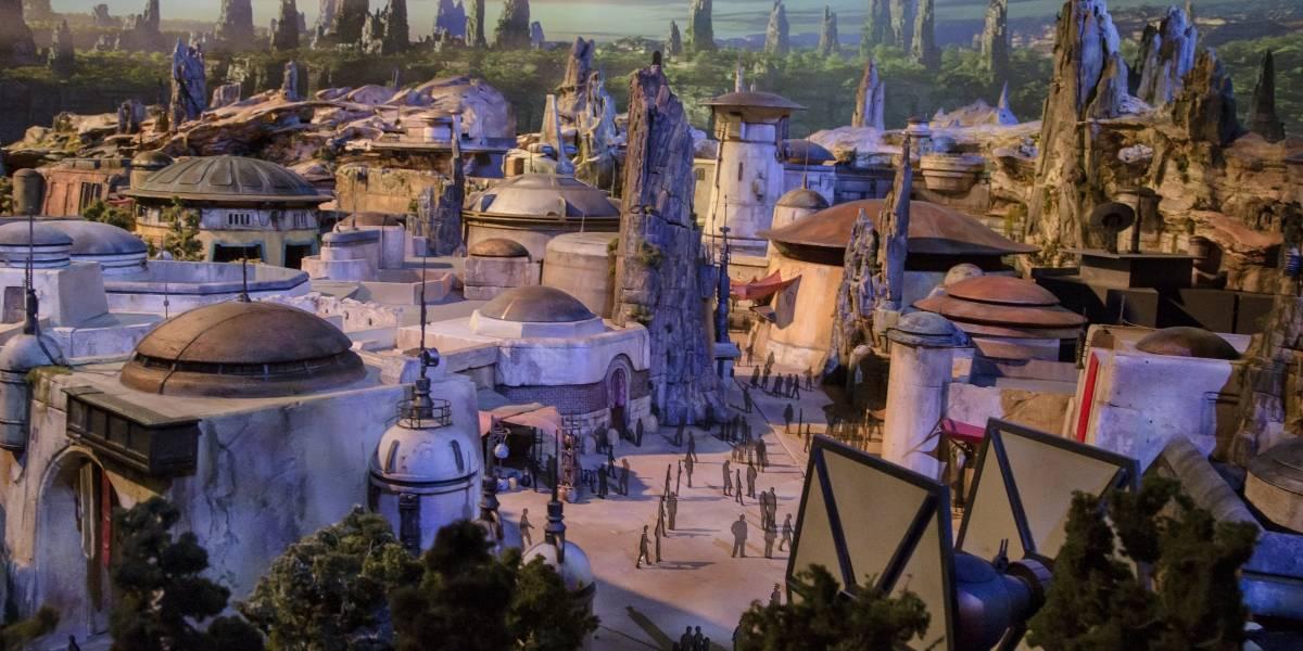 El primer vistazo al parque temático de Star Wars en Disneyland