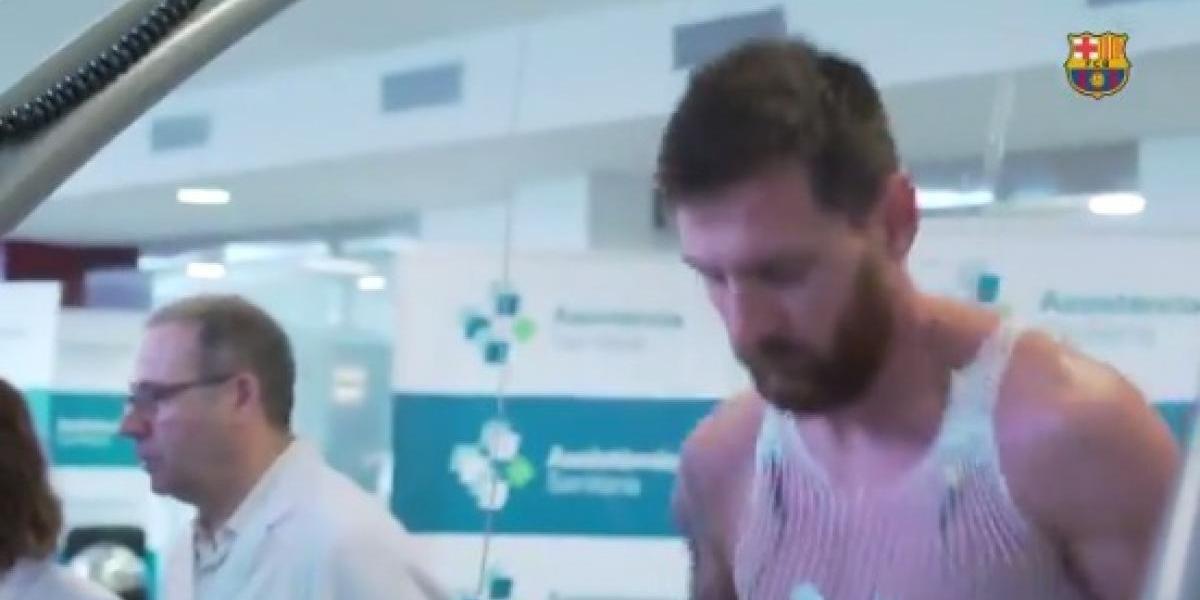 VIDEO: La imagen viral de Lionel Messi en su regreso a Barcelona
