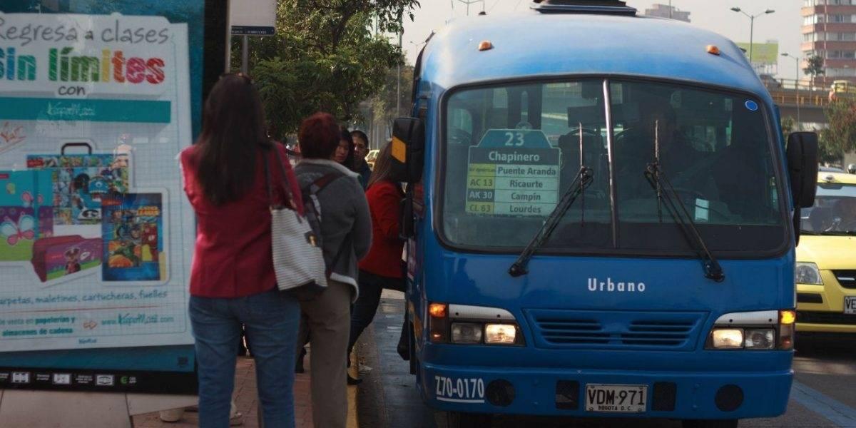 Sujetos atracaron bus del SITP, pero fueron atrapados por la Policía con todo el botín