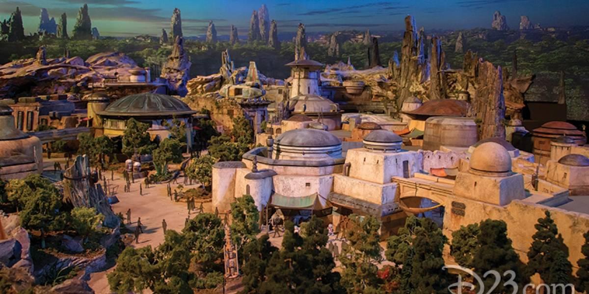 Así será el parque temático de Star Wars: Disney presentó primeras imágenes