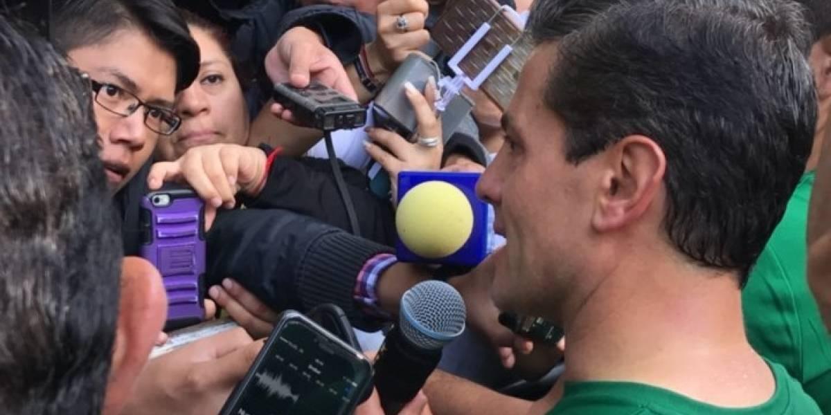 Enrique Peña Nieto encabeza Séptima Carrera Molino del Rey
