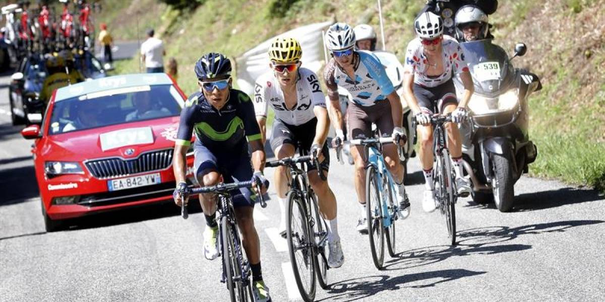 "Nairo Quintana: ""preferí no correr riesgos y perder algunos segundos"""