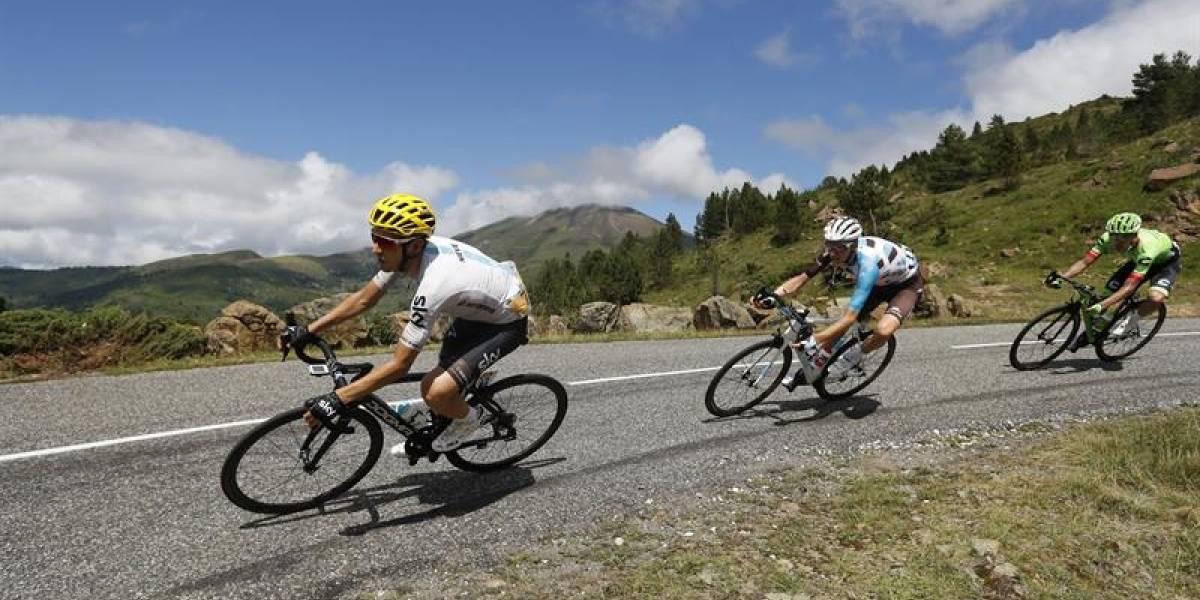 Nairo Quintana regresa al top 10, mientras que Urán pide por los Alpes