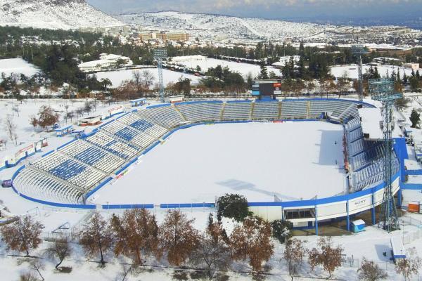 La nieve se dejó caer en San Carlos / Agencia Uno