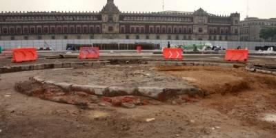 Obras de rehabilitación en el Zócalo llevan 56% de avance