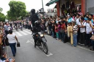 Desfile de la PNC por XX aniversario