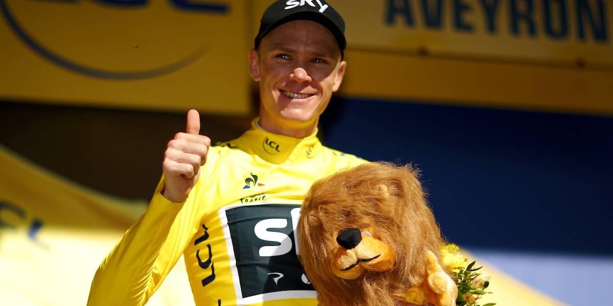 Chris Froome recupera el liderato del Tour de Francia