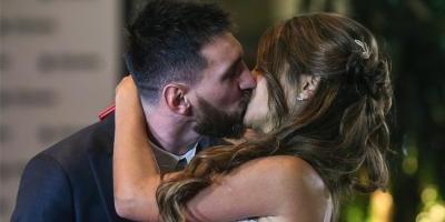 Leo Messi compartió el video más esperado de su casamiento: