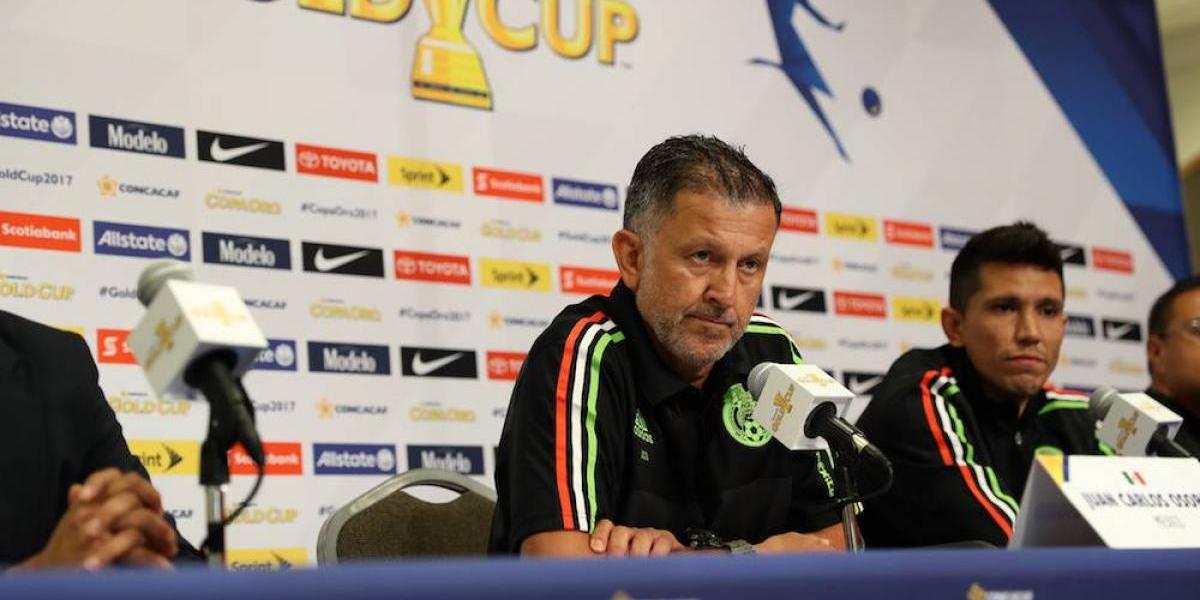Juan Carlos Osorio se siente frustrado por no poder dirigir al Tri