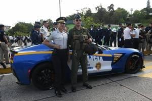 Lujosa patrulla de la PNC, Chevrolet Corvette