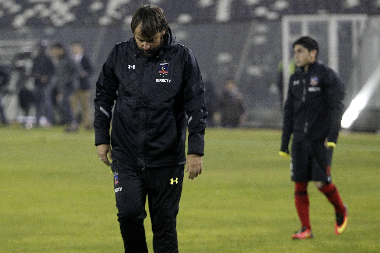 José Luis Sierra renunció a la banca de Colo Colo / Photosport
