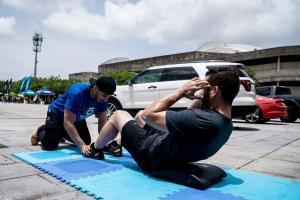 Ford Puerto Rico pone atletas a sudar