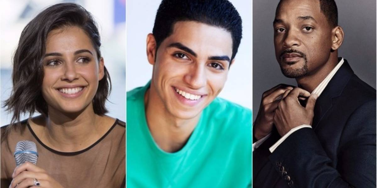 Ellos serán los protagonistas de la nueva versión de Aladdin