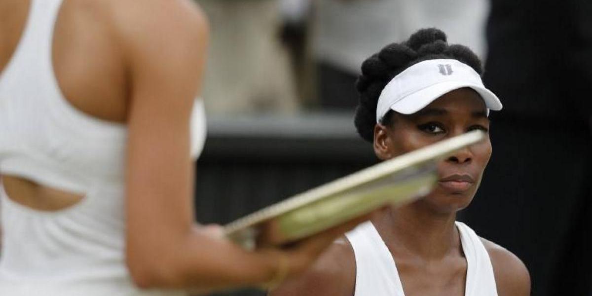 Los gestos de Venus Williams luego de la final de Wimbledon que lo dijeron todo