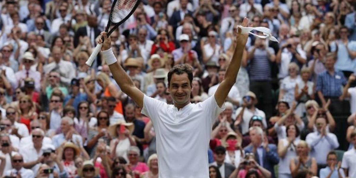 """Federer y su receta para lograr su octavo Wimbledon: """"Continué creyendo y soñando, y aquí estoy"""""""