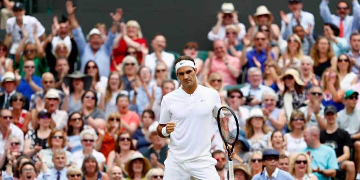 Roger Federer, campeón a las lágrimas del Abierto de Wimbledon