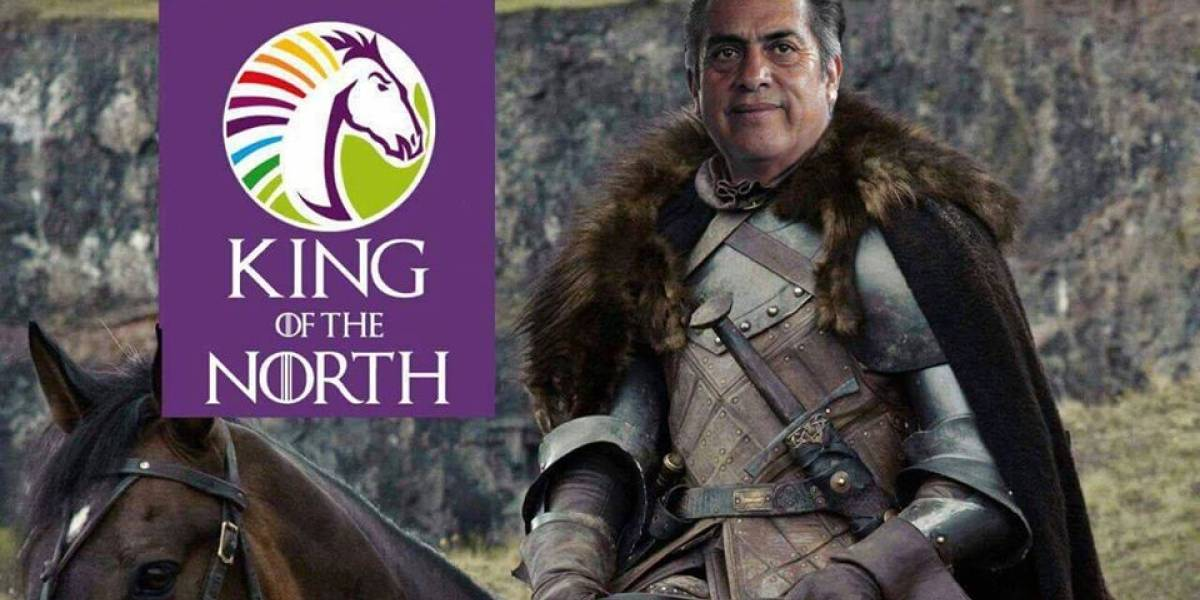 Convierten a El Bronco en el 'Rey del Norte' de Game Of Thrones