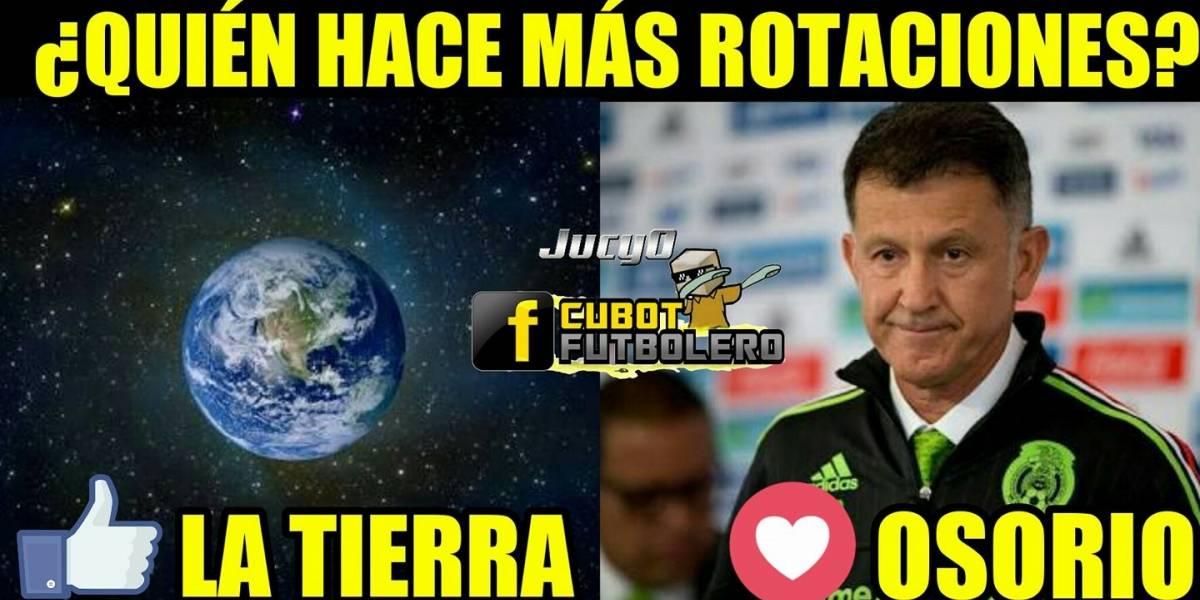 Los mejores memes del México vs Curazao en Copa Oro