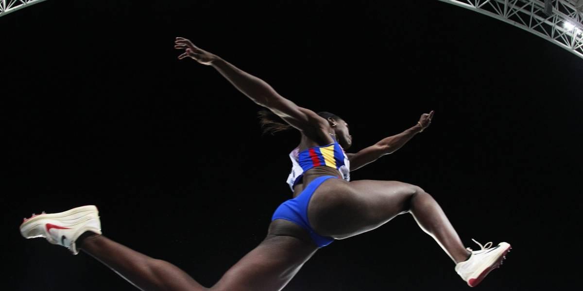 Caterine Ibargüen regresa a la competencia con oro en Grand Prix de Medellín
