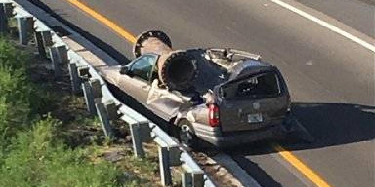 Hombre sobrevive increíble accidente en Florida