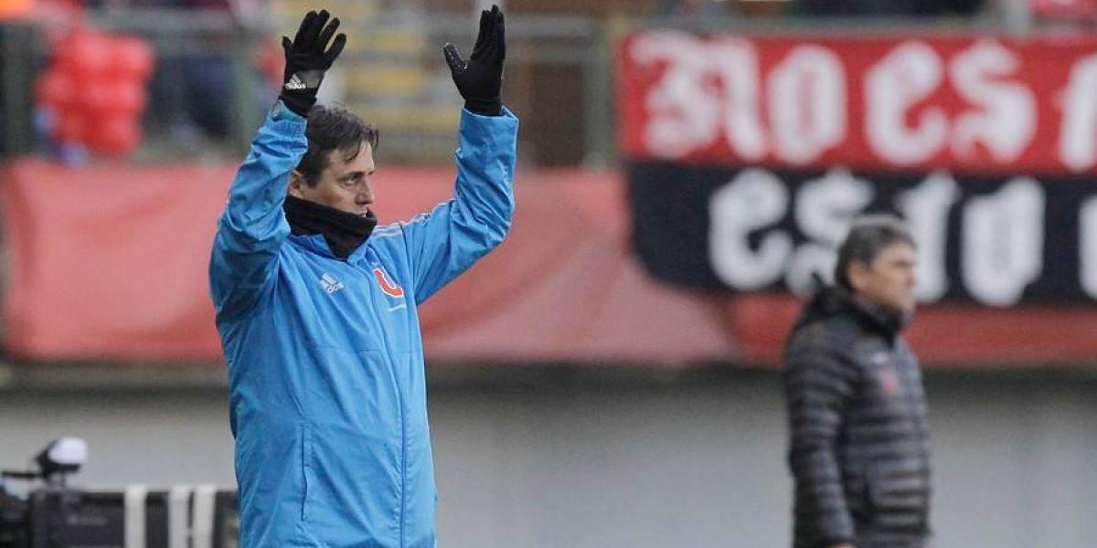 """Hoyos confirma a Pinilla en la U: """"Es un jugador importante y estará con nosotros"""""""