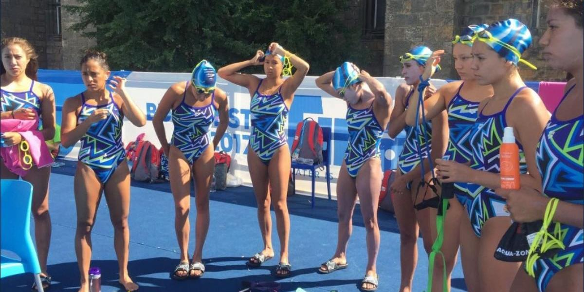 México a la final por equipos en nado sincronizado