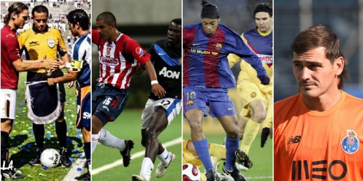 Los equipos europeos que han jugado en México