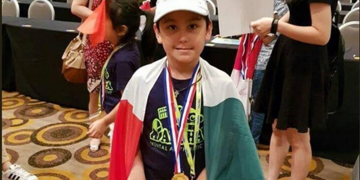 Niño mexicano gana campeonato mundial de cálculo mental