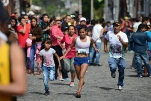 Carrera de Las Rosas, en La Antigua Guatemala