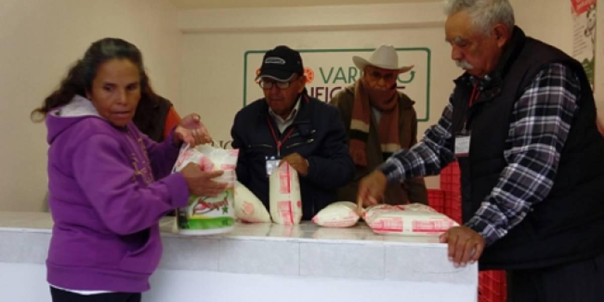 Diconsa garantiza abasto de alimentos ante huracanes