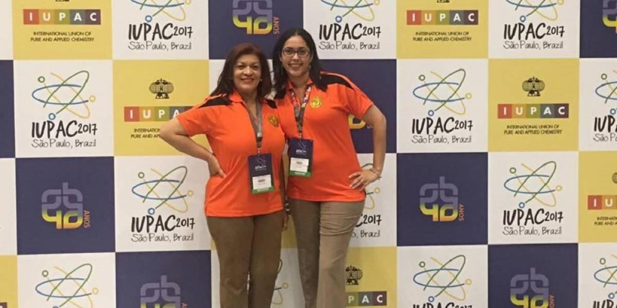 Delegadas boricuas participan en Congreso Internacional de Química en Brasil
