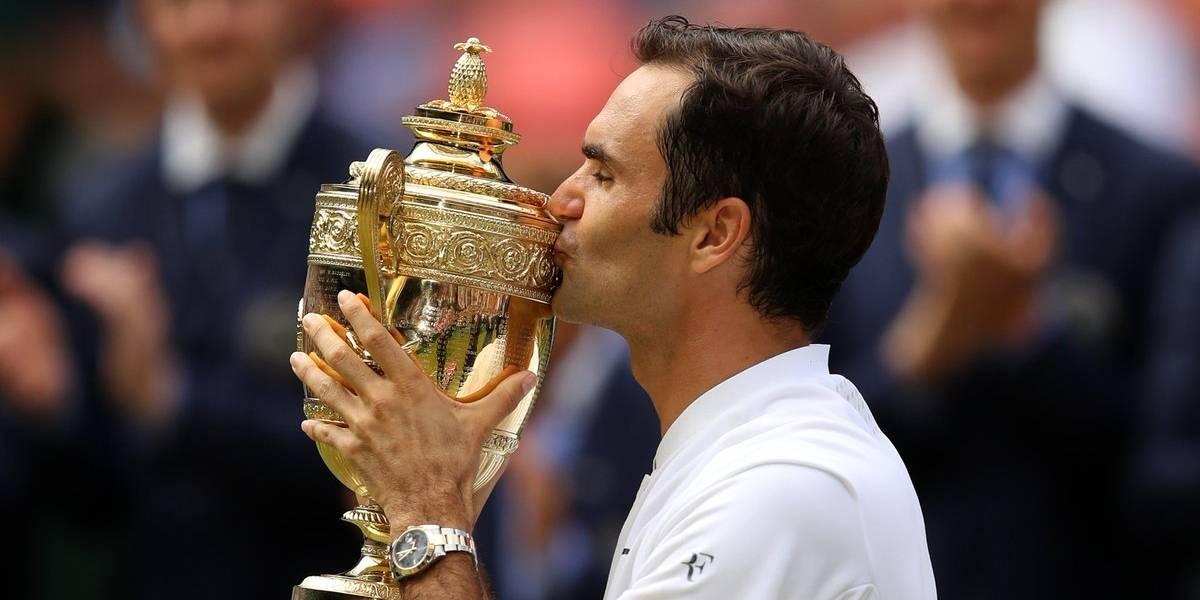 Histórico Roger Federar se corona en Wimbledon