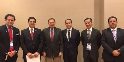 Empresarios mexicanos dialogan con gobernadores de EU