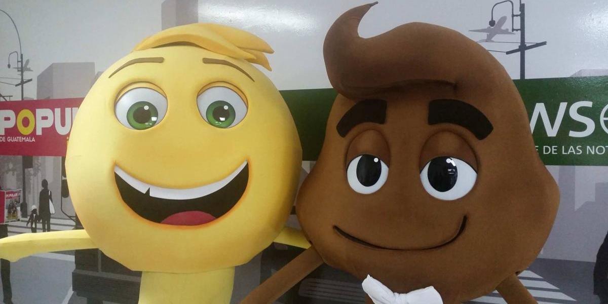 """Tómate una foto con los protagonistas de """"The Emoji Movie"""""""