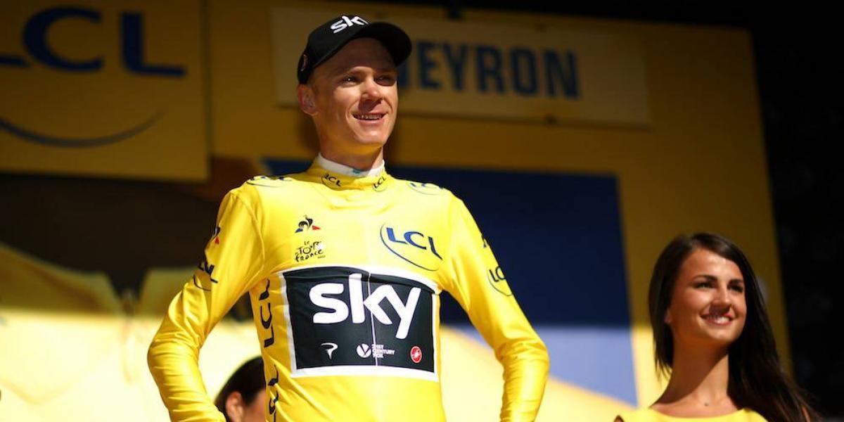 Froome mantiene líderato en el Tour de Francia pese a falla en su bicicleta