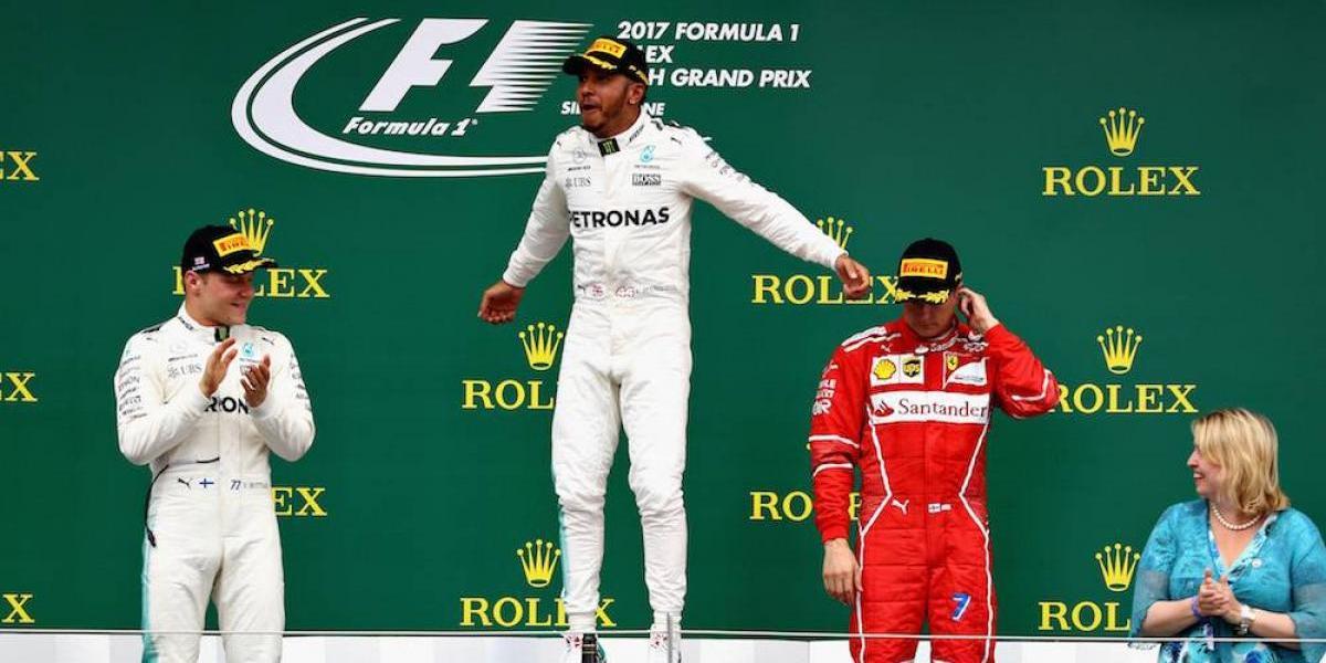 Hamilton conquista el GP de Gran Bretaña; Checo Pérez finaliza en el Top 10