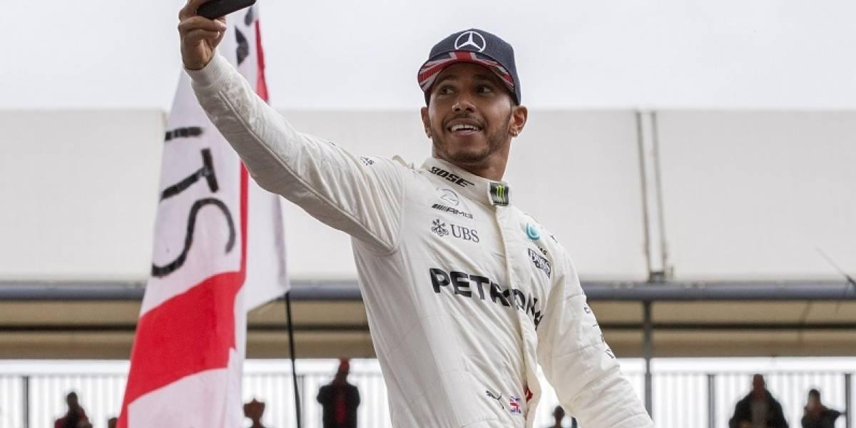 Lewis Hamilton se coloca a un punto de Vettel en la F-1