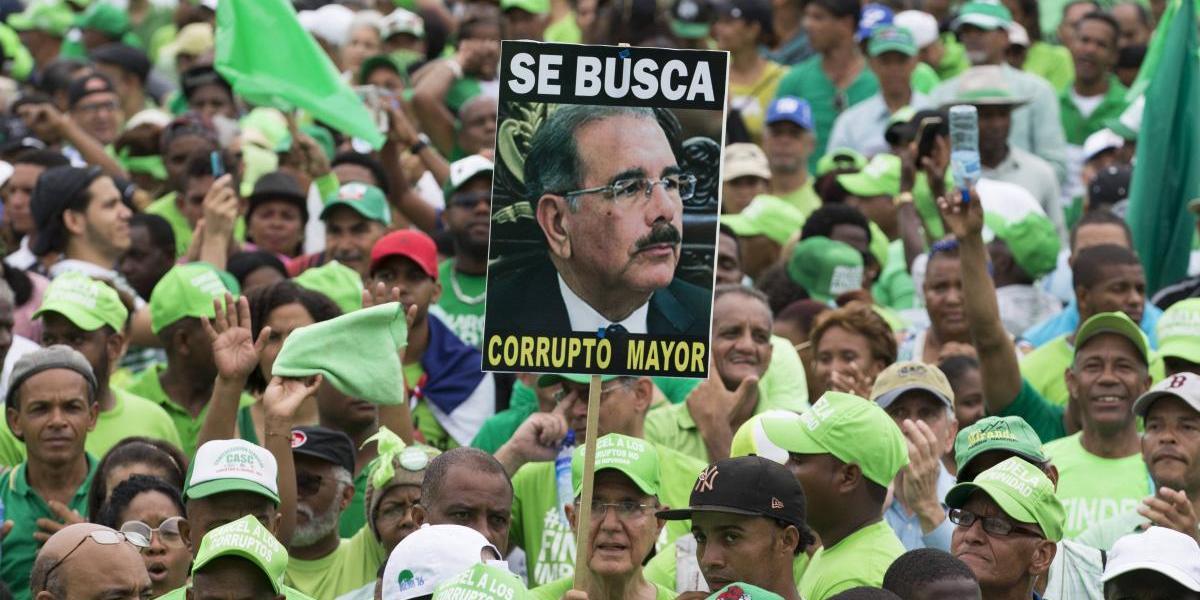Marcha Verde pide investigación penal contra Danilo por corrupción