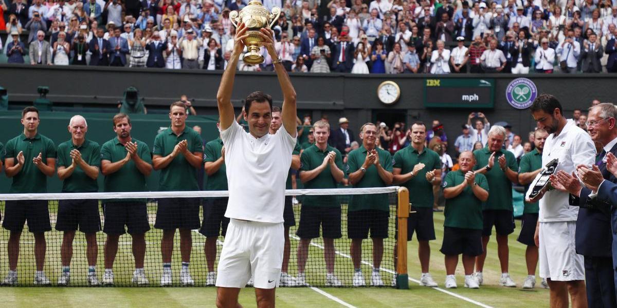 Roger Federer vuelve a casarse con la gloria en Wimbledon