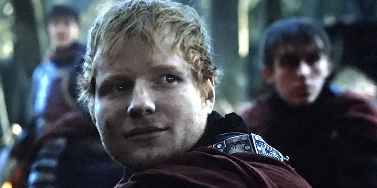Ed Sheeran debuta como actor en Game of Thrones